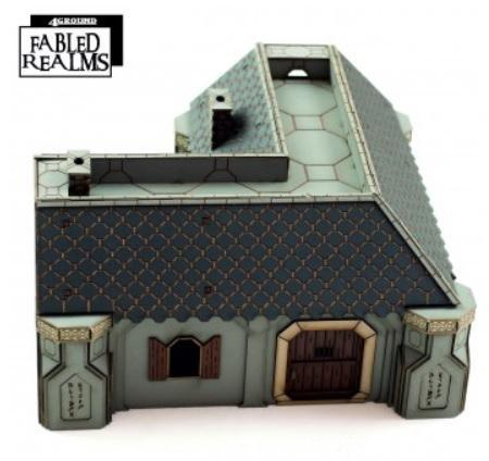 28mm Fabled Realms: Karag-Haim Offadreoz Dwelling 3
