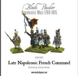 Black Powder (Napoleonic Wars): Late French Command