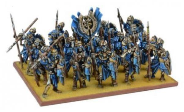 Kings Of War, 2nd Edition: (Empire Of Dust) Skeleton Regiment