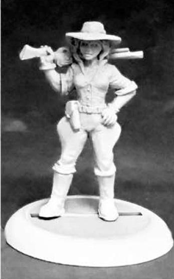 Savage Worlds Miniatures: Frazer's Fighter Female