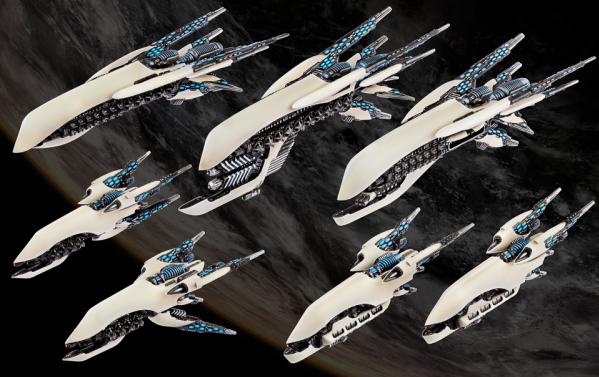 Dropfleet Commander: (Post-Human Republic) Starter Fleet