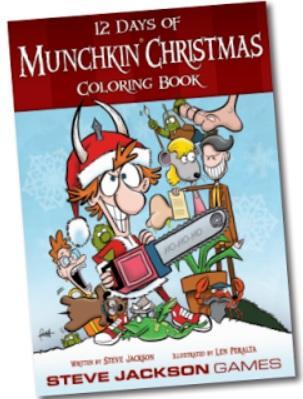 Munchkin: 12 Days Of Munchkin Christmas Coloring Book