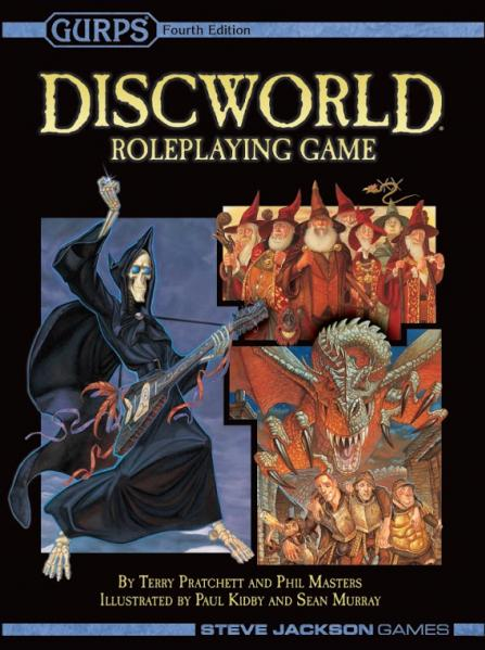 GURPS, 4th Edition RPG: Discworld RPG (2nd Edition)