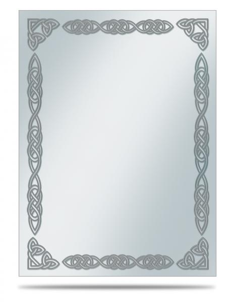 Card Sleeves: (Deck Protector) Silver Celtic Border Printed (50)