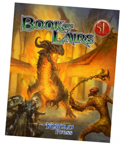 Dungeons & Dragons RPG: Book Of Lairs