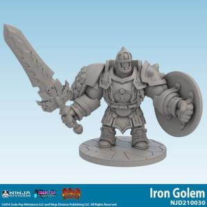 Super Dungeon Tactics: Iron Golem