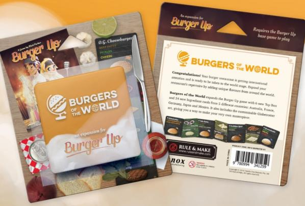 Burger Up: Burgers Of The World (Expansion)