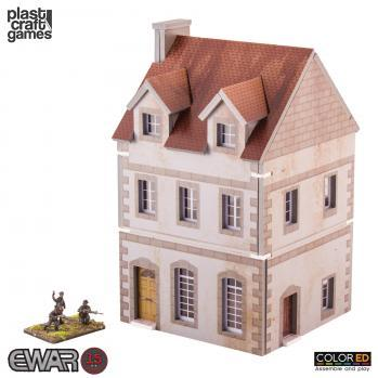 15-20mm Historical: EWAR Two Story Building (Color ED)