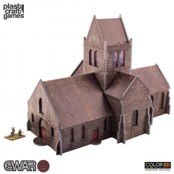 15-20mm Historical: EWAR Saint-Mere-Eglise Church (Color ED)