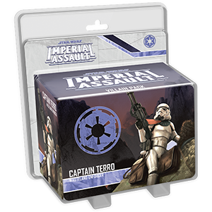 Star Wars: Imperial Assault - Captain Terro Villain Pack (on Dewback)
