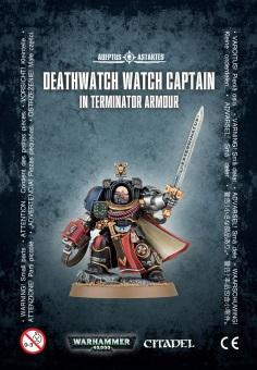 WH40K: Deathwatch Watch Captain in Terminator Armour