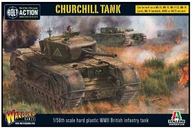 Bolt Action, 2nd Edition: (British) Churchill Infantry Tank