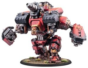 Warmachine: (Khador) Conquest/Victor, Colossal Warjack (plastic)