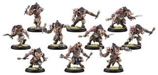 Hordes: (Minions) Farrow Brigands/Farrow Commandos Unit (Plastic)