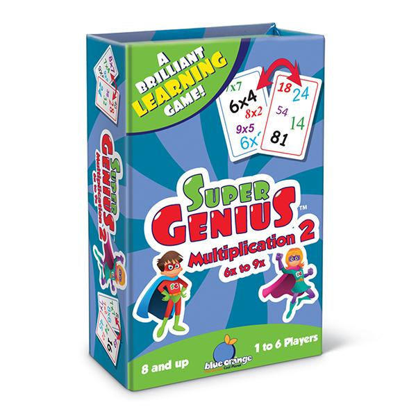 Super Genius: Multiplication 2