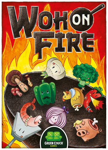 Wok On Fire (Boxed Card Game)