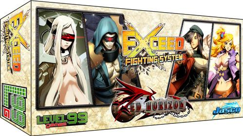 Exceed Fighting System: (Red Horizon) Eva & Kaden vs. Lily & Miska