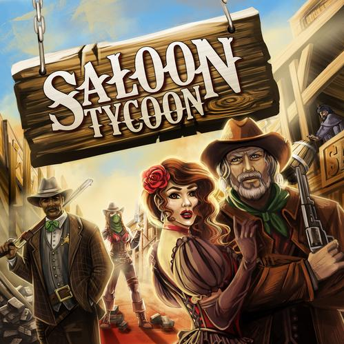 Saloon Tycoon (Boxed Board Game)