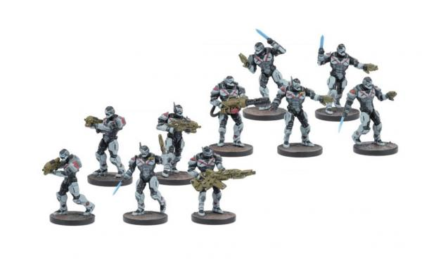 Deadzone, 2nd Edition: (Enforcers) Infantry Squad