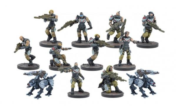 Deadzone, 2nd Edition: (Enforcers) Pathfinders