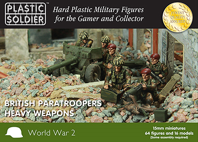 15mm WWII: (British) Paratroopers Heavy Weapons