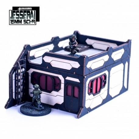 15mm Jesserai (Sci-Fi): Primary Phase Habs PPH-013