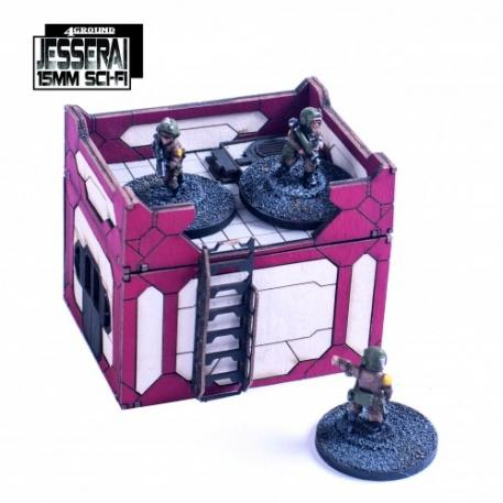15mm Jesserai (Sci-Fi): Primary Phase Habs PPH-056
