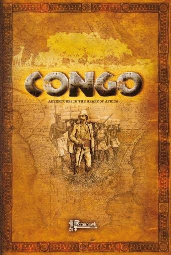 Congo: Adventures In The Heart Of Africa (Rulebook)