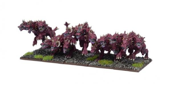 Kings Of War, 2nd Edition: (Forces Of The Abyss) Hellhounds