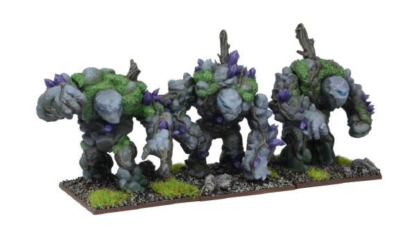 Kings Of War, 2nd Edition: (Forces Of Nature) Earth Elemental Regiment