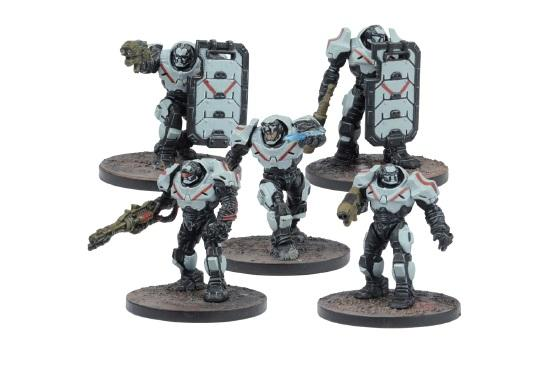 Deadzone, 2nd Edition: (Enforcers) Peacekeepers