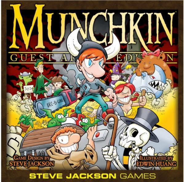 Munchkin: Edwin Huang Special Guest Artist Edition