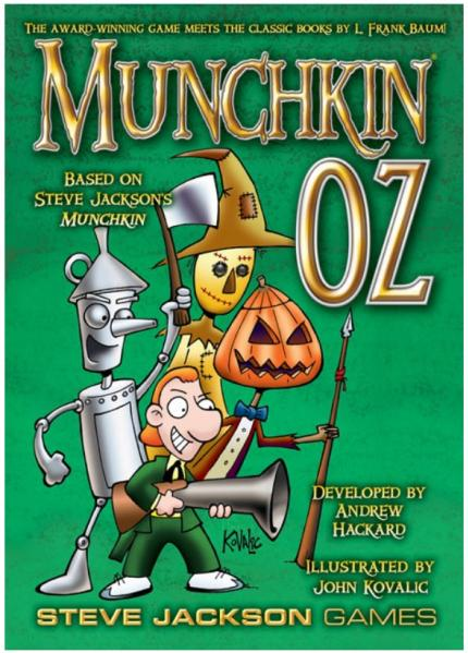 Munchkin Oz (The Award Winning Game Meets The Classic Books By L. Frank Baum!)