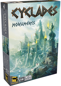 Cyclades Expansion: Monuments