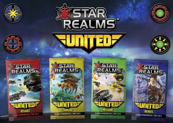 Star Realms: United (1 random booster pack)
