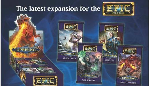 Epic Card Game: Uprising (1 random booster pack)