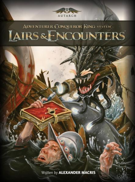 Adventurer Conquer King System RPG: Lairs & Encounters