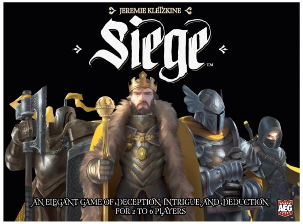 Siege: An Elegant Game Of Deception, Intrigue & Deduction