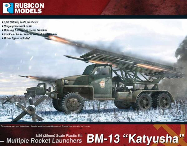 28mm WWII: (Soviet)  BM-13N ''Katyusha'' Rocket Launcher