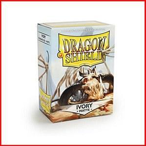 Dragon Shields: Standard Matte - Ivory (100)