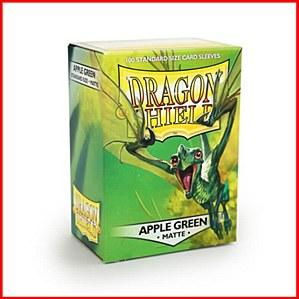 Dragon Shields: Standard Matte - Apple Green (100)