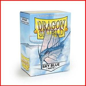 Dragon Shields: Standard Matte - Sky Blue (100)