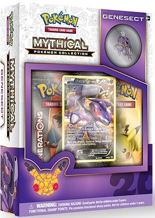 Pokemon CCG: Mythical Pokemon Collection - Genesect [Limited]