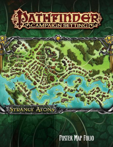 Pathfinder RPG: (Campaign Setting) Strange Aeons Poster Map Folio