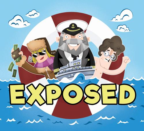 Exposed (Boxed Card Game)
