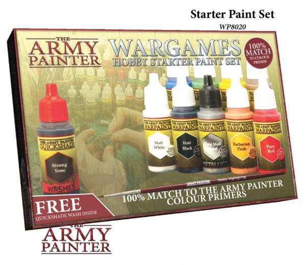 Warpaints: Starter Paint Set (NEW)
