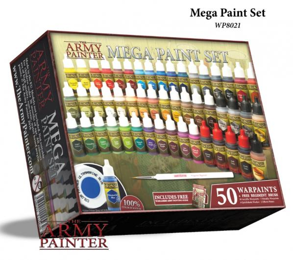 Warpaints: Mega Paint Set III (NEW)
