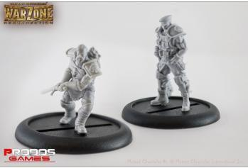 Mutant Chronicles RPG: (Imperial) Miniatures Set