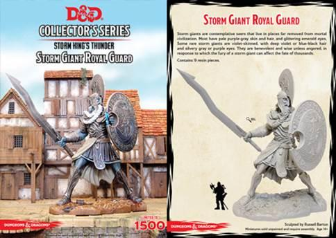 D&D Collector's Series: Storm Giant Royal Guard (Limited)