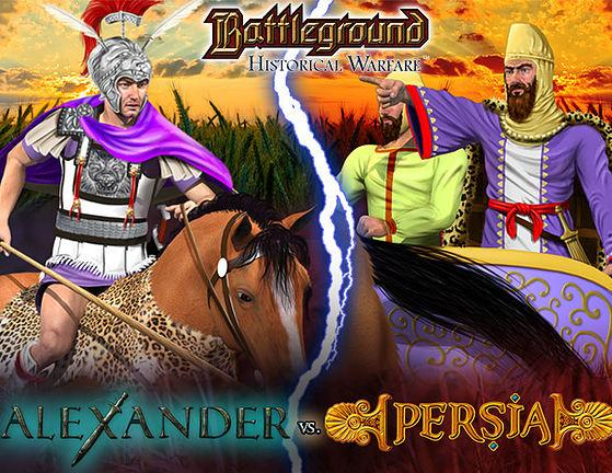 Battleground: (Historical Warfare) Alexander vs. Persia Basic Set